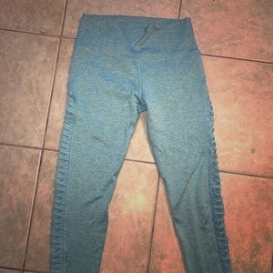 Aerie Chill Play Move Teal Leggings
